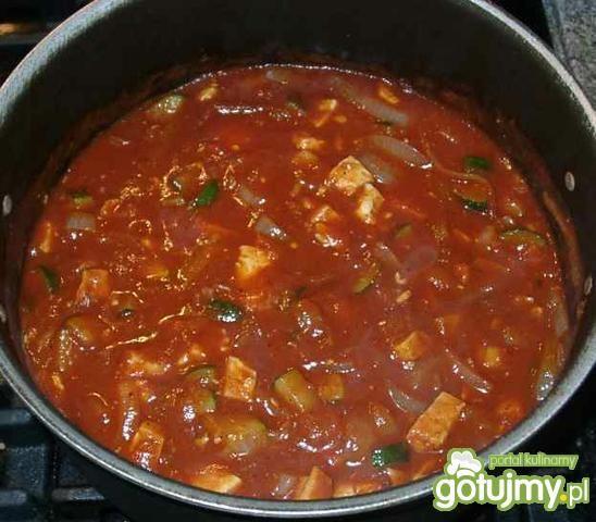 Spaghetti z tofu
