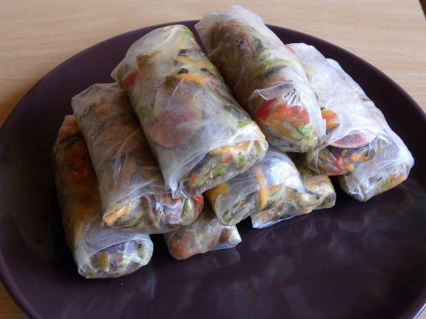 Spring Rolls z carpaccio wołowym