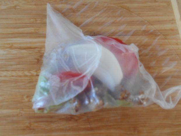 Spring rolls z mięsem mielonym