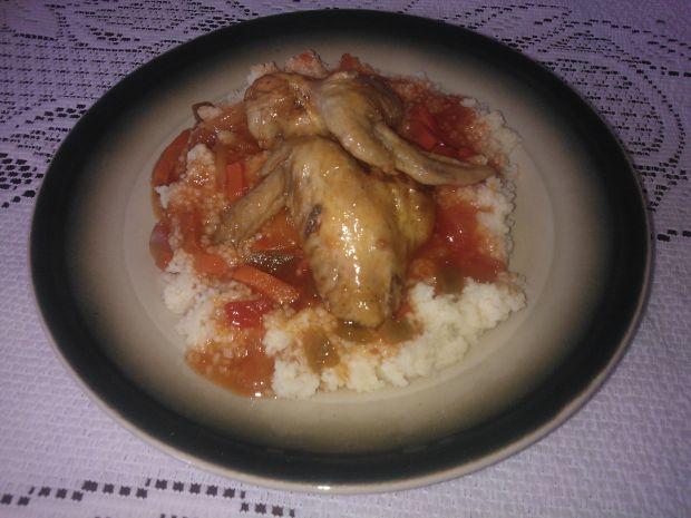 Srzydełka z kurczaka w sosie słodko-kwaśnym