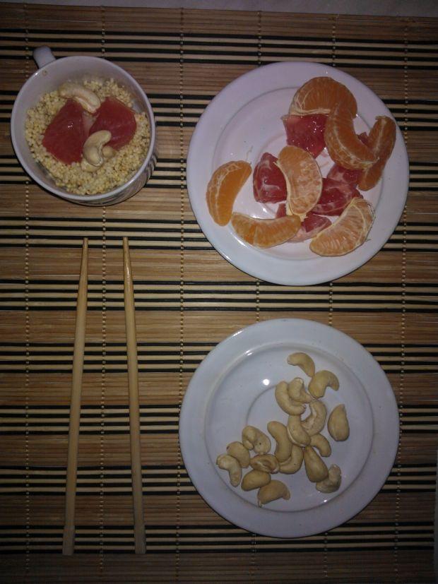 Starter śniadaniowy czyli cytrusowa kasza jaglana