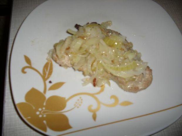 Stek z cebulką