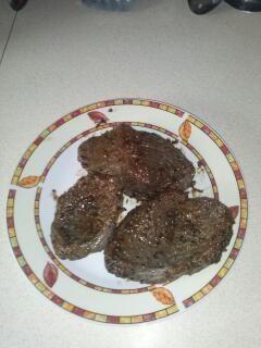 Steki wołowe z patelni grillowej