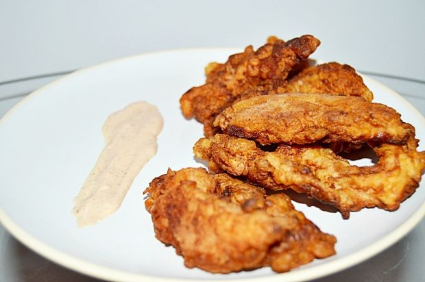 Stripsy z kurczaka a'la KFC