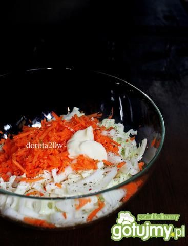 Surówka a marchewki,kalarepy i kapusty