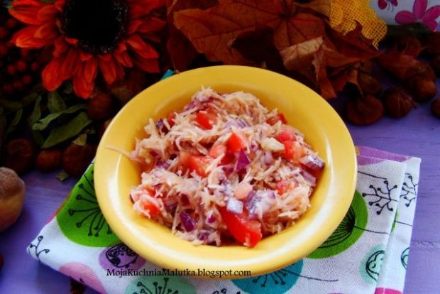 Surówka selerowo - pomidorowa