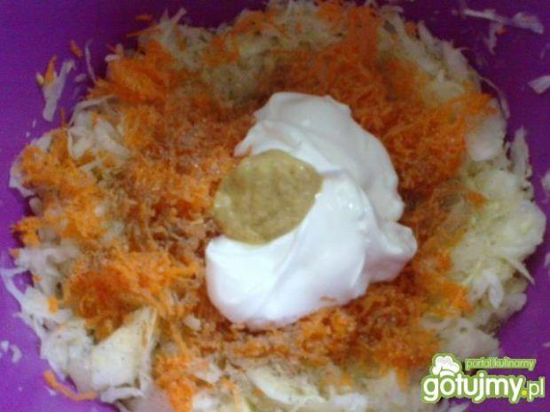Surówka z białej kapusty wg Megg