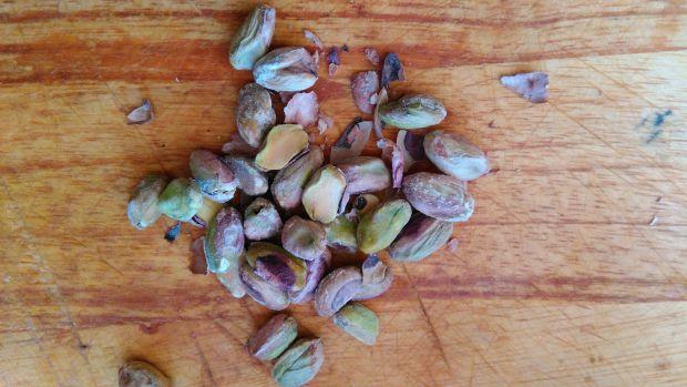 Surówka z czerwonej kapusty z pistacjami