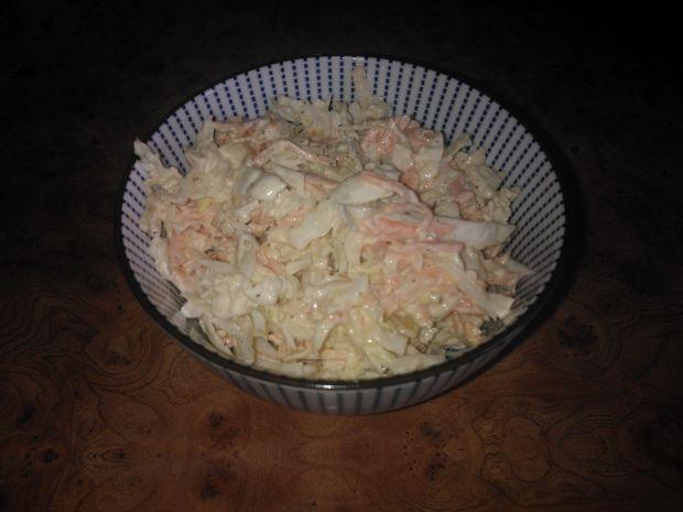Surówka z kapusty pekińskiej,marchewki i jabłka
