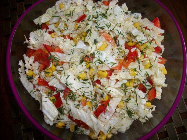 Surówka z kukurydzą wg Zub3ra