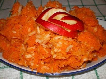 Surówka z marchewki i jabłka