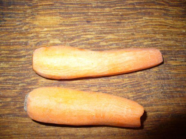 Surówka z marchewki i kapusty kiszonej
