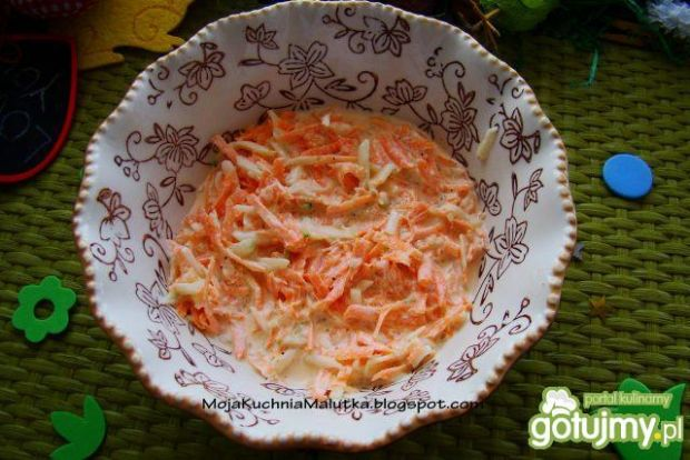 Surówka z marchewki i ogórka
