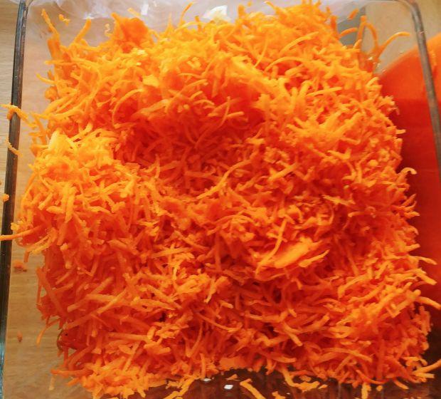 Surówka z marchewki i pora