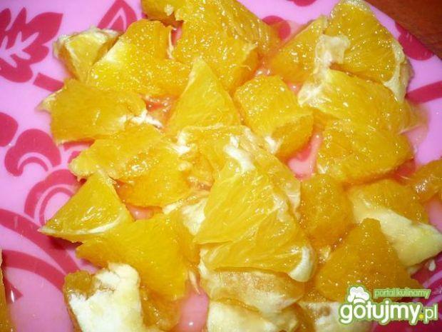 Surówka z nutką pomarańczy