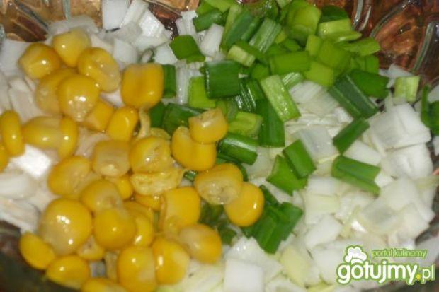 Surówka z potem i kukurydzą