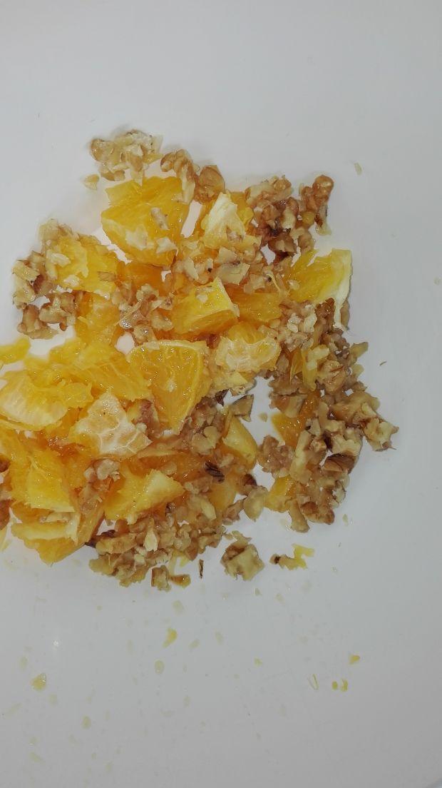 Surówka z selera z pomaranczami