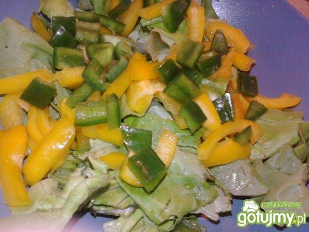 Surówka żółto - zielona