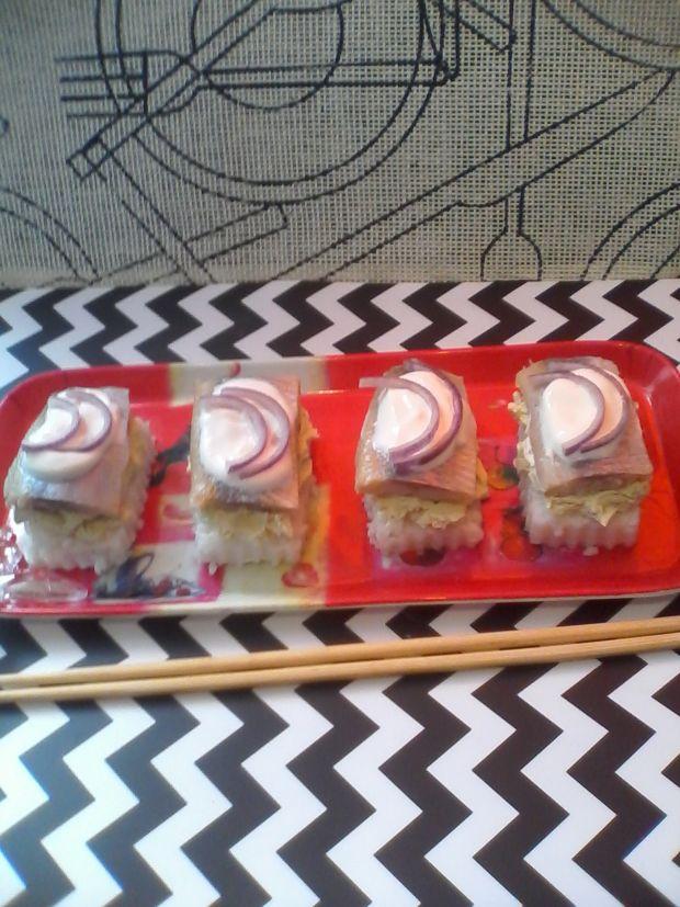 Sushi-oshi z matiasem