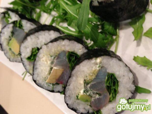 Sushi z dorady