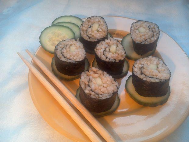 Sushi z ogórkiem-hosomaki