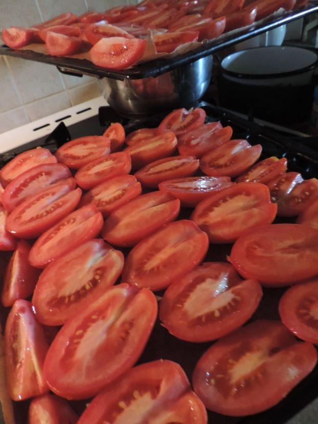 Suszone pomidory w zalewie