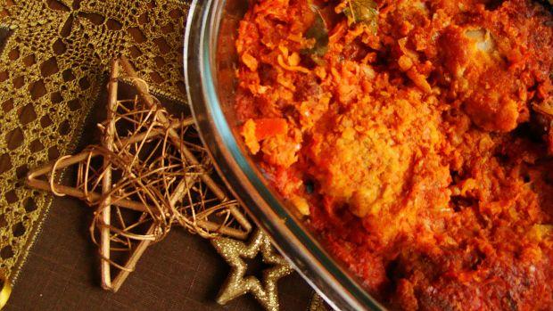 Świąteczna ryba na sposób grecki z warzywami