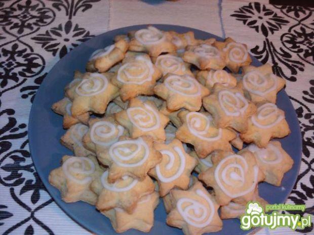 Świąteczne ciastka pomarańczowe
