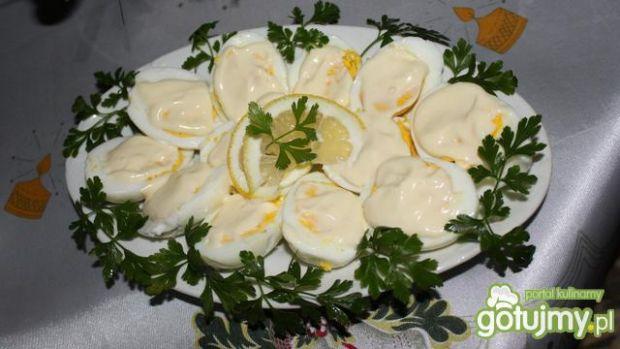 Swiateczne jajka w majonezie