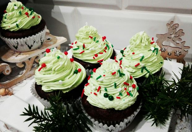 Świąteczne muffinki czekoladowe
