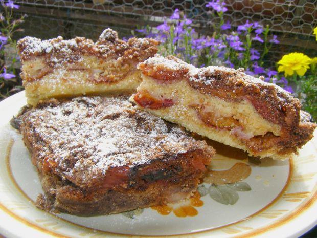 Ciasto śliwkowe sypane