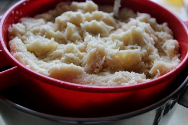 Szare kluski z żytnią mąką
