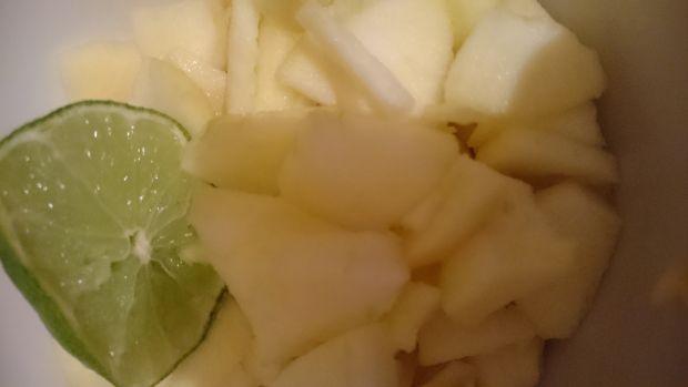 Szarlotka z kukurydzianym wierzchem