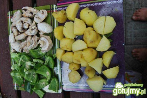Szaszłyk tandori masala