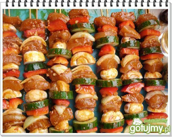 Szaszłyki drobiowo-warzywne Eli