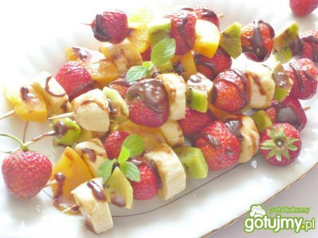 Szaszłyki owocowe 3