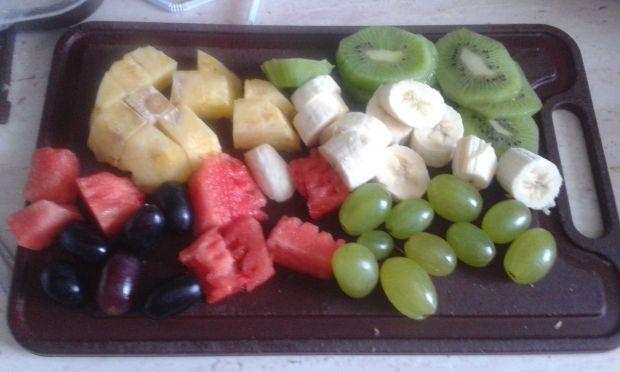 Szaszłyki owocowe