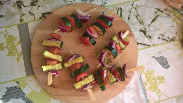 Szaszłyki warzywne z grilla