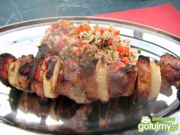 Szaszłyki wieprzowe z grilla