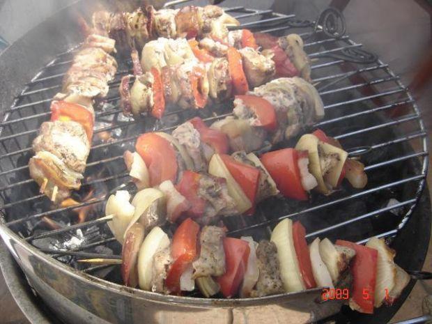 Szaszłyki z grilla - łatwe