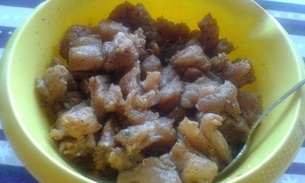 Szaszłyki z indyka z cebulką i papryką