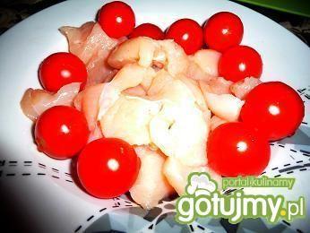 Szaszłyki z pomidorami