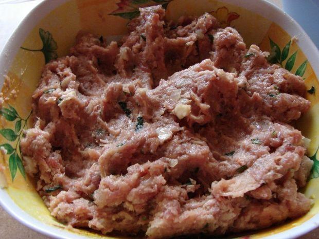 Sznycelki z dodatkiem mięsa gotowanego