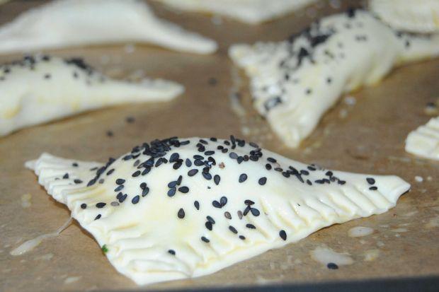 Szpinakowo- makrelowe pierożki