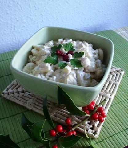 Szybka i prosta salatka ziemniaczana