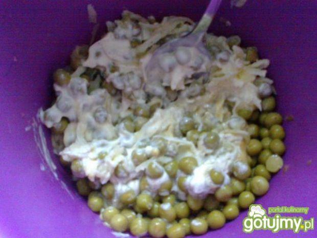 Szybka sałatka do obiadu wg Megg