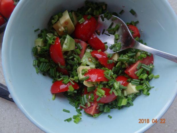 Szybka sałatka z avocado
