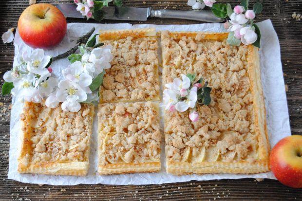 Szybka tarta  z jabłkami