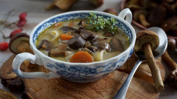 Szybka zupa grzybowa