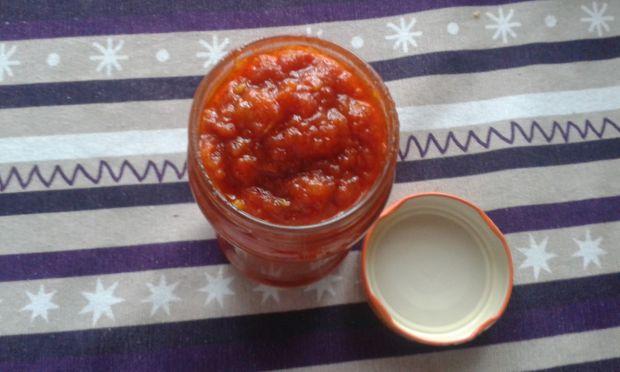 Szybki keczup domowy z pomidorów malinowych